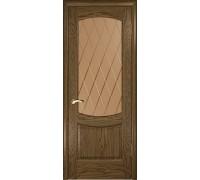 Ульяновская дверь Лаура-2 светлый морёный дуб ДО