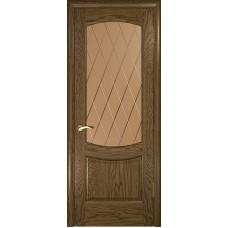 Ульяновские двери Лаура-2 светлый морёный дуб ДО