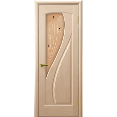Ульяновская дверь Мария белёный дуб ДО
