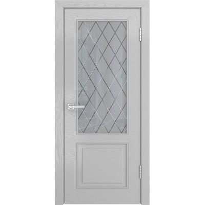 Ульяновская дверь Нео-1 ясень манхеттен ДО
