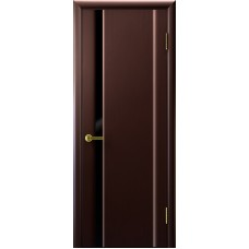 Ульяновские двери Синай-1 венге ДО чёрное