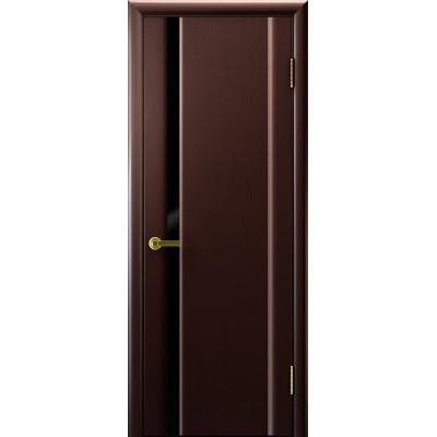 Ульяновская дверь Синай-1 венге ДО чёрное