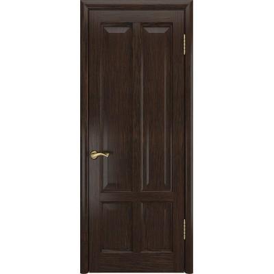 Ульяновская дверь Титан-3 морёный дуб ДГ