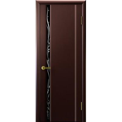 Ульяновская дверь Трава-1 венге