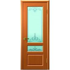 Ульяновская дверь Валентия-2 светлый анегри ДО