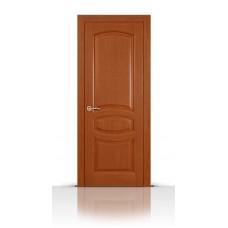 Дверь СитиДорс модель Топаз цвет Анегри темный