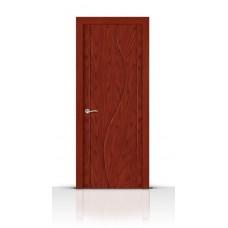 Дверь СитиДорс модель Корунд цвет Красное дерево