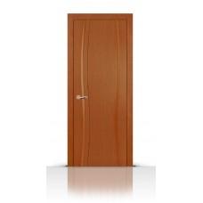 Дверь СитиДорс модель Жемчуг-1 цвет Анегри темный