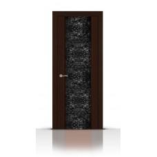 Дверь СитиДорс модель Дождь цвет Венге