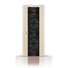 Дверь СитиДорс модель Дождь цвет Белёный дуб