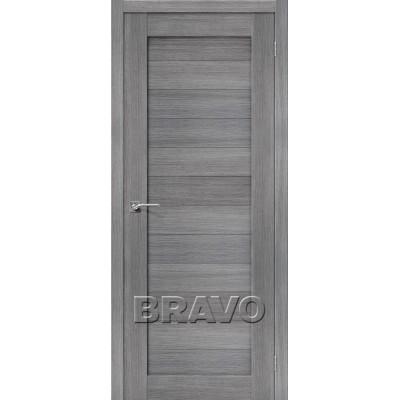 Межкомнатная Дверь Экошпон Порта-21 Grey Veralinga