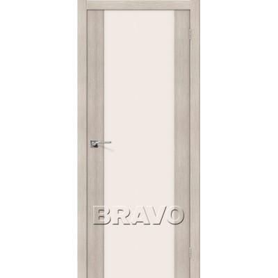 Межкомнатная Дверь Экошпон Порта-13 Cappuccino Veralinga