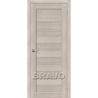 Межкомнатная Дверь Экошпон Порта-21 Cappuccino Veralinga