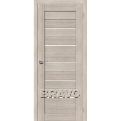 Межкомнатная Дверь Экошпон Порта-22 Cappuccino Veralinga