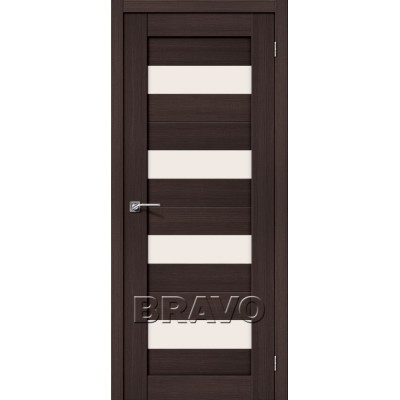 Межкомнатная Дверь Экошпон Порта-23 Wenge Veralinga