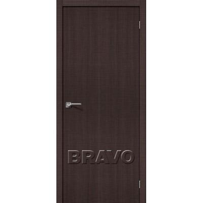 Межкомнатная Дверь Экошпон Порта-50 Wenge Crosscut