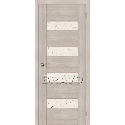 Межкомнатная Дверь Экошпон VM4 Cappuccino Veralinga