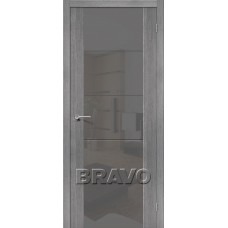 Дверь Экошпон V4 S Grey Veralinga