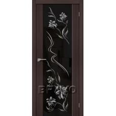 Дверь Экошпон S-13 Print Wenge Veralinga