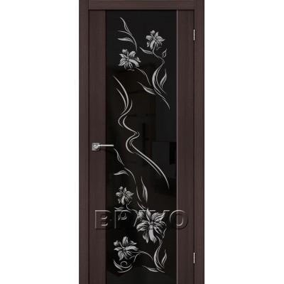 Межкомнатная Дверь Экошпон S-13 Print Wenge Veralinga