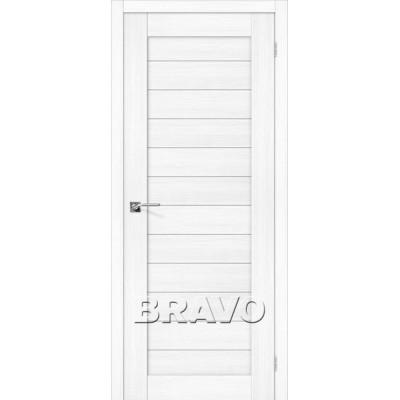 Межкомнатная Дверь Экошпон Порта-21 Snow Veralinga