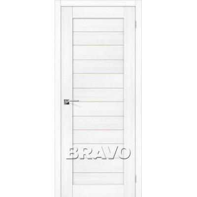 Межкомнатная Дверь Экошпон Порта-22 Snow Veralinga