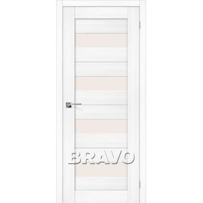 Межкомнатная Дверь Экошпон Порта-23 Snow Veralinga