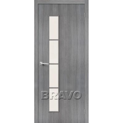 Межкомнатная Дверь Экошпон Тренд-4 Grey Veralinga