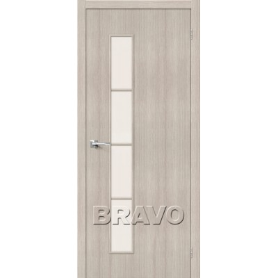 Межкомнатная Дверь Экошпон Тренд-4 Cappuccino Veralinga