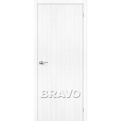 Межкомнатная Дверь Экошпон Тренд-0 Snow Veralinga