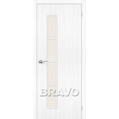 Межкомнатная Дверь Экошпон Тренд-4 Snow Veralinga