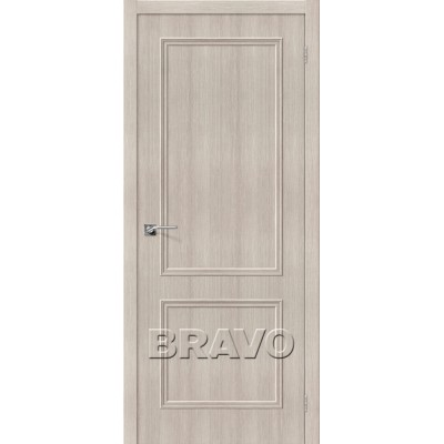Межкомнатная Дверь Экошпон Симпл-12 Cappuccino Veralinga