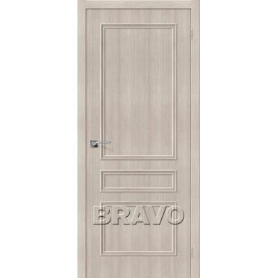 Межкомнатная Дверь Экошпон Симпл-14 Cappuccino Veralinga