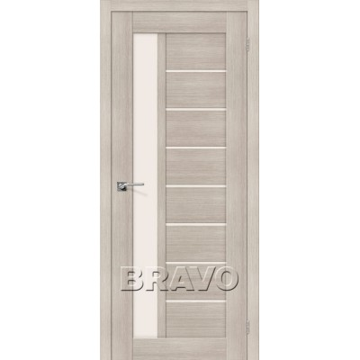 Межкомнатная Дверь Экошпон Порта-27 Cappuccino Veralinga