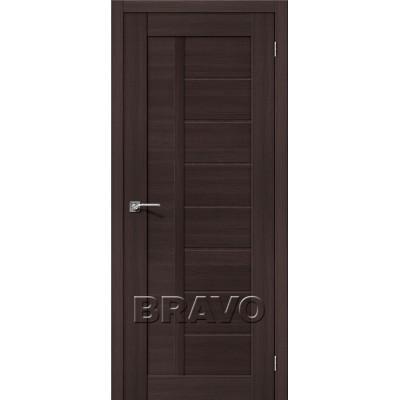 Межкомнатная Дверь Экошпон Порта-26 Wenge Veralinga