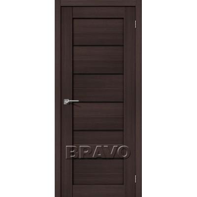 Межкомнатная Дверь Экошпон Порта-22 Wenge Veralinga Black Star