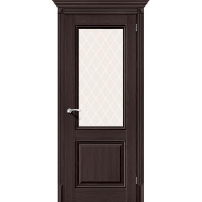 Межкомнатная Дверь Экошпон Классико-33 Wenge Veralinga