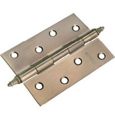 MORELLI Петли стальные универсальные с короной MS 100X70X2.5-4BB Античная бронза AB