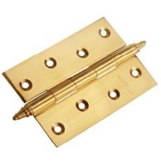 MORELLI Петли стальные универсальные с короной MS 100X70X2.5-4BB Золото PG