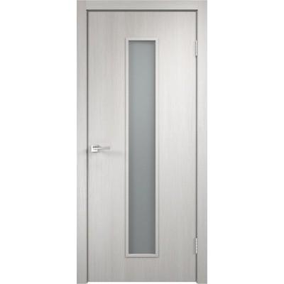 Межкомнатная VellDoris Дверь с четвертью Smart L-2 Дуб белый мателюкс