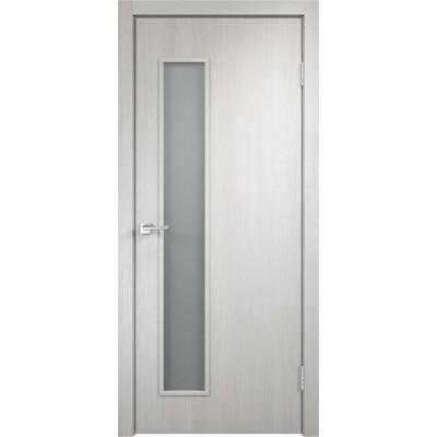 Межкомнатная VellDoris Дверь с четвертью Smart L-3 Дуб белый мателюкс