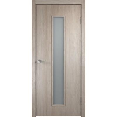 Межкомнатная VellDoris Дверь с четвертью Smart L-2 Капучино мателюкс
