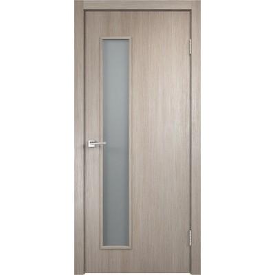 Межкомнатная VellDoris Дверь с четвертью Smart L-3 Капучино мателюкс