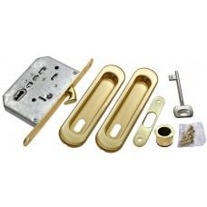 MORELLI Комплект для раздвижных дверей MHS150 L Матовое золото SG