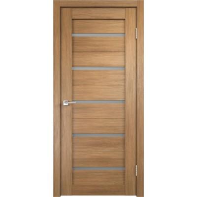 Межкомнатная VellDoris Дверь с четвертью Duplex Дуб золотой мателюкс