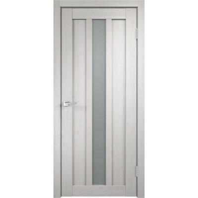 Межкомнатная VellDoris Дверь с четвертью Interi 3-1 Дуб белый мателюкс