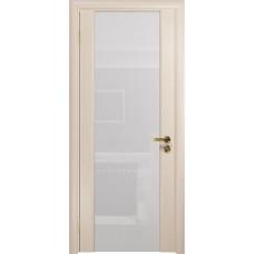Дверь DioDoor Триумф-3 беленый дуб белый триплекс