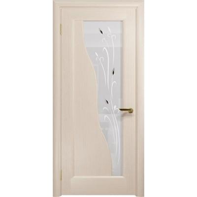 Межкомнатная Дверь DioDoor Торино беленый дуб белое пескоструйное Рами