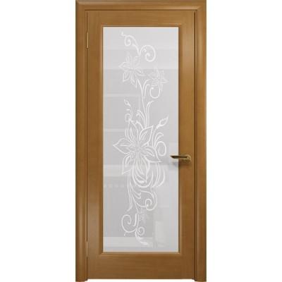 Межкомнатная Дверь DioDoor Миланика-1 анегри белое пескоструйное Миланика