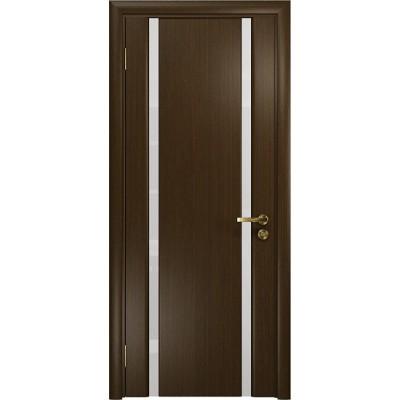 Межкомнатная Дверь DioDoor Триумф-2 венге белый триплекс